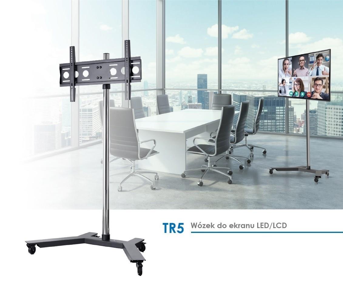 TR5 – Wózek wideokonferencyjny do ekranu LED/ LCD