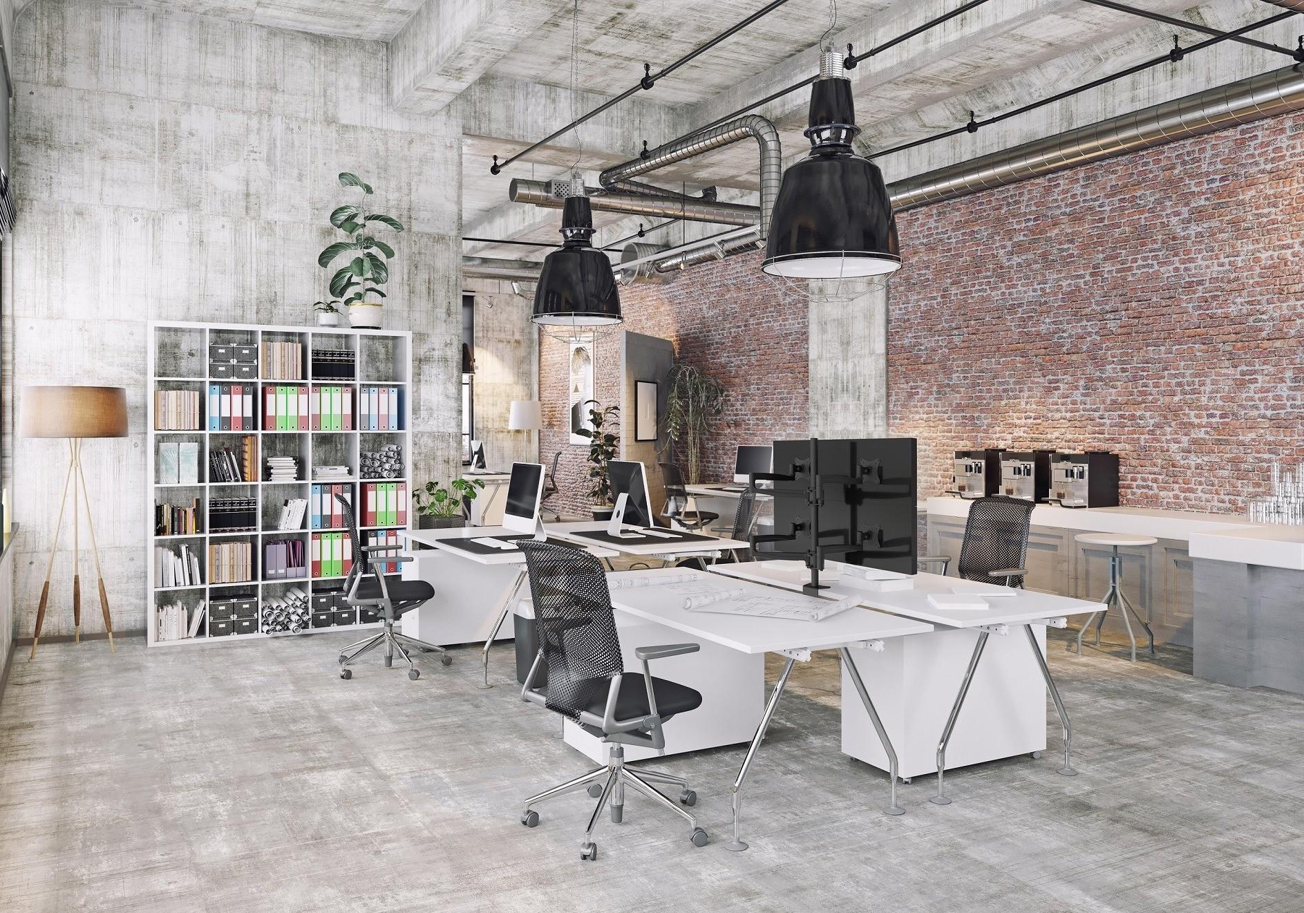 Profesjonalne uchwyty biurkowe do monitorów